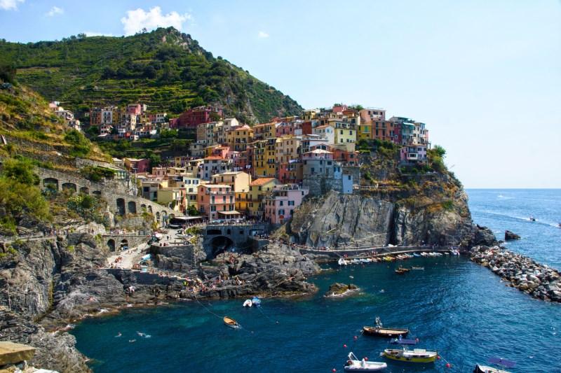 Cinque Terre en Italie Road trip